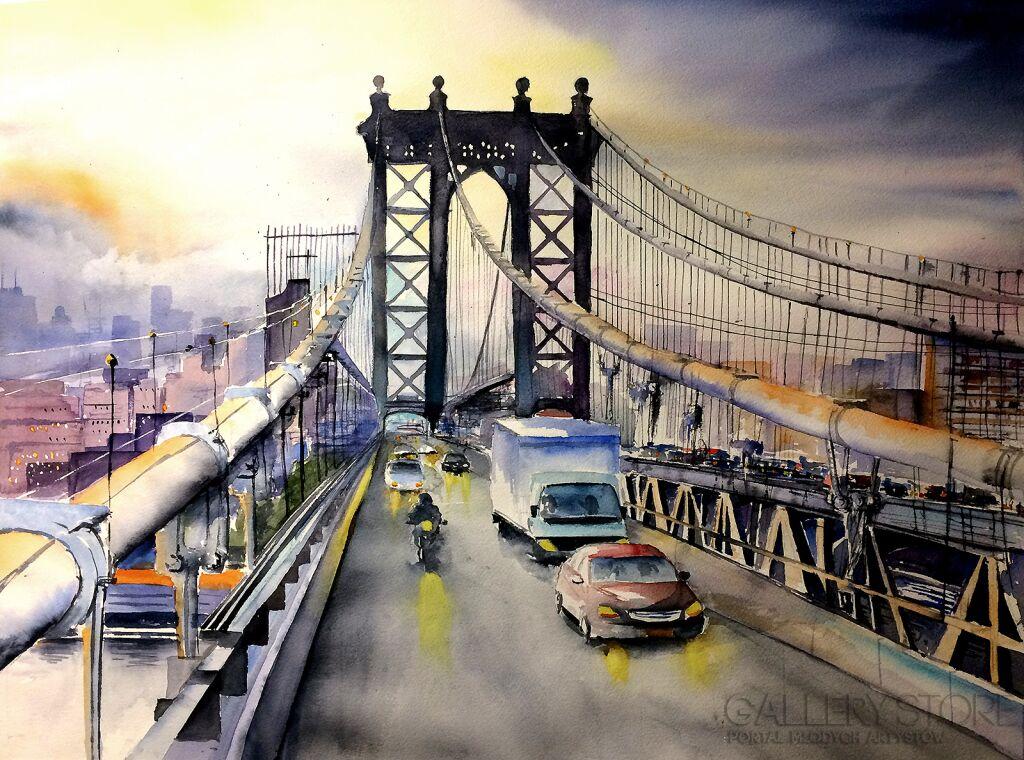 The Manhattan Bridge Tomasz Olszewski