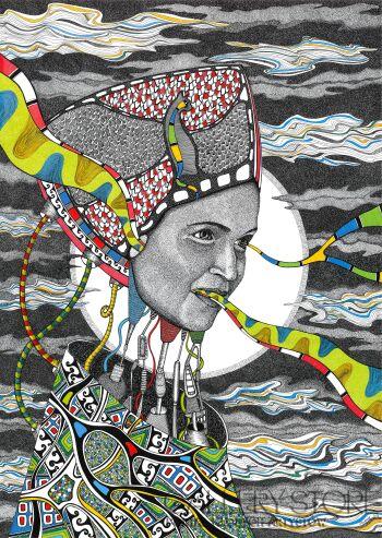 Aneta Mlaś-Intuicja- giclee-Grafika