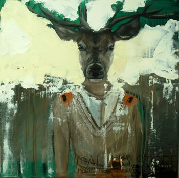 Agnieszka Nosek-Follow your instincts-Olej