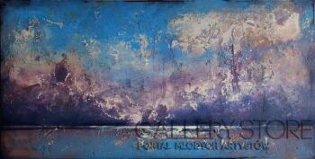 Marcin Korek-Pejzaż morski II-Akryl
