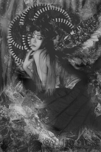Agnieszka Cichoń - Kamińska-queen of darkness-Fotografia