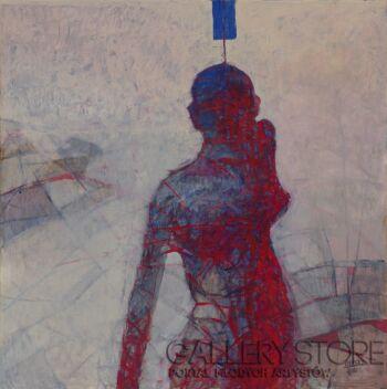 Izabela Wolska-Blue Thoughts-Akryl
