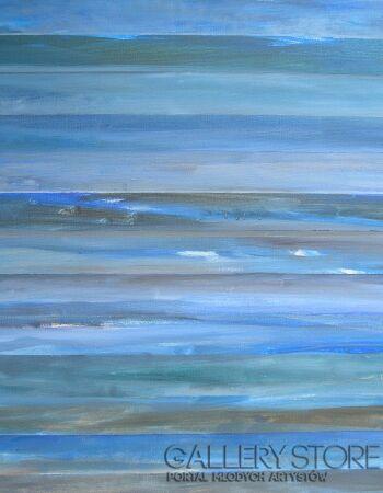 Elżbieta Kuźniar Pejzaż z morzem