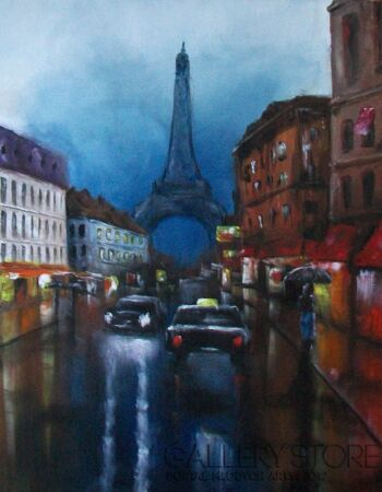 Paweł Kosior Deszczowy Paryż