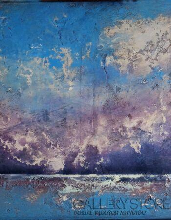 Marcin Korek-Pejzaż morski II-Acrylic