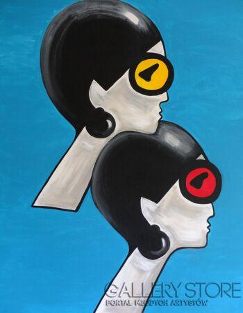 Bea  Guillemot -A 114 -Acrylic