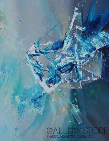 Tomasz  Jaxa Kwiatkowski-The 5th Dimension-Olej