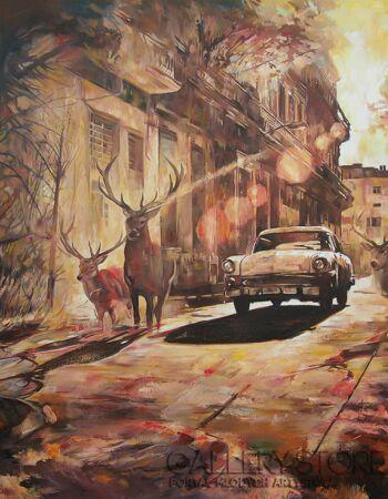 Janusz Orzechowski-Deers-Olej