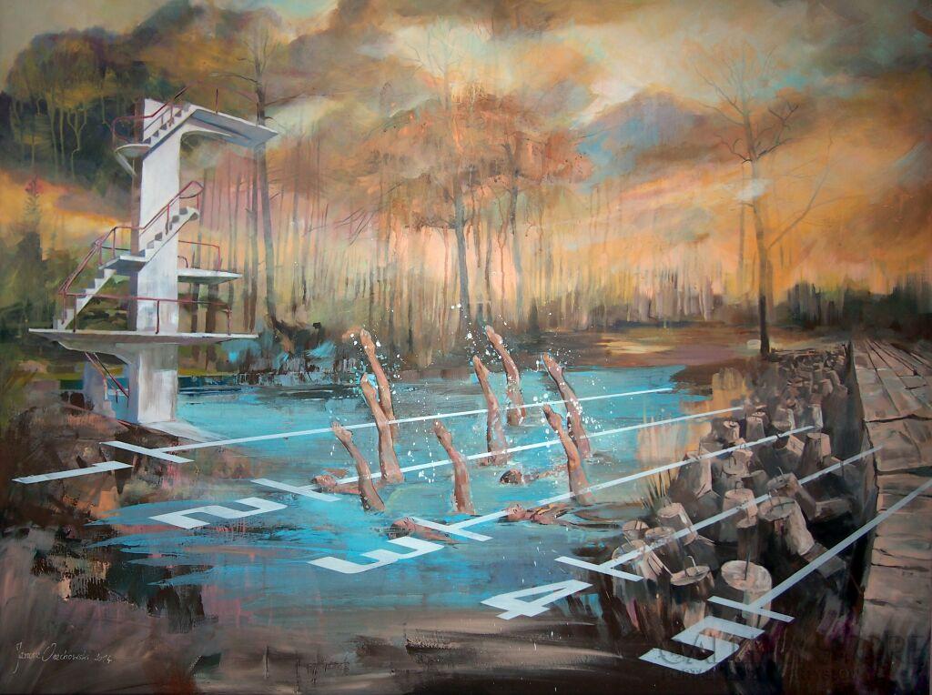 Malarstwo synchroniczne Janusz Orzechowski