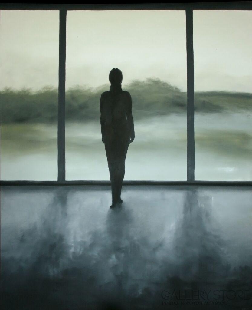 Kobieta przy oknie Natalia Ziomek- Wilusz