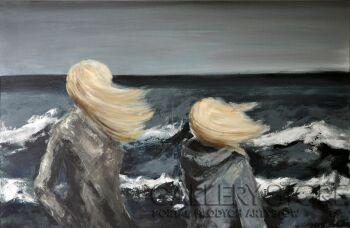Barbara Pawełczak - Klara-Wiatr od morza-Akryl