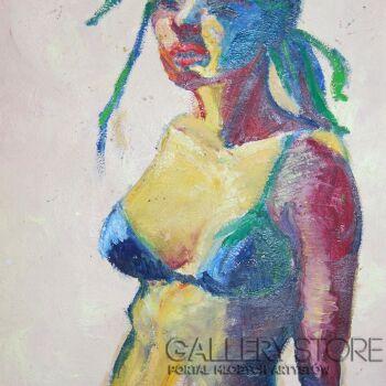 Emilia Gąsienica-Setlak-Autoportret-Olej