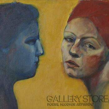 Małgorzata Łodygowska-Portret x 2-Malarstwo