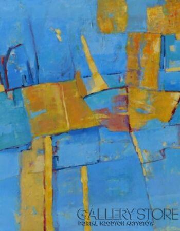 Magdalena Walulik Obraz abstrakcyjny 80x100