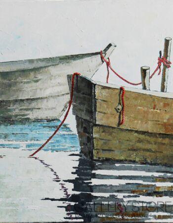 Wiaszesław Rogin-Czerwona smycz-Paintings