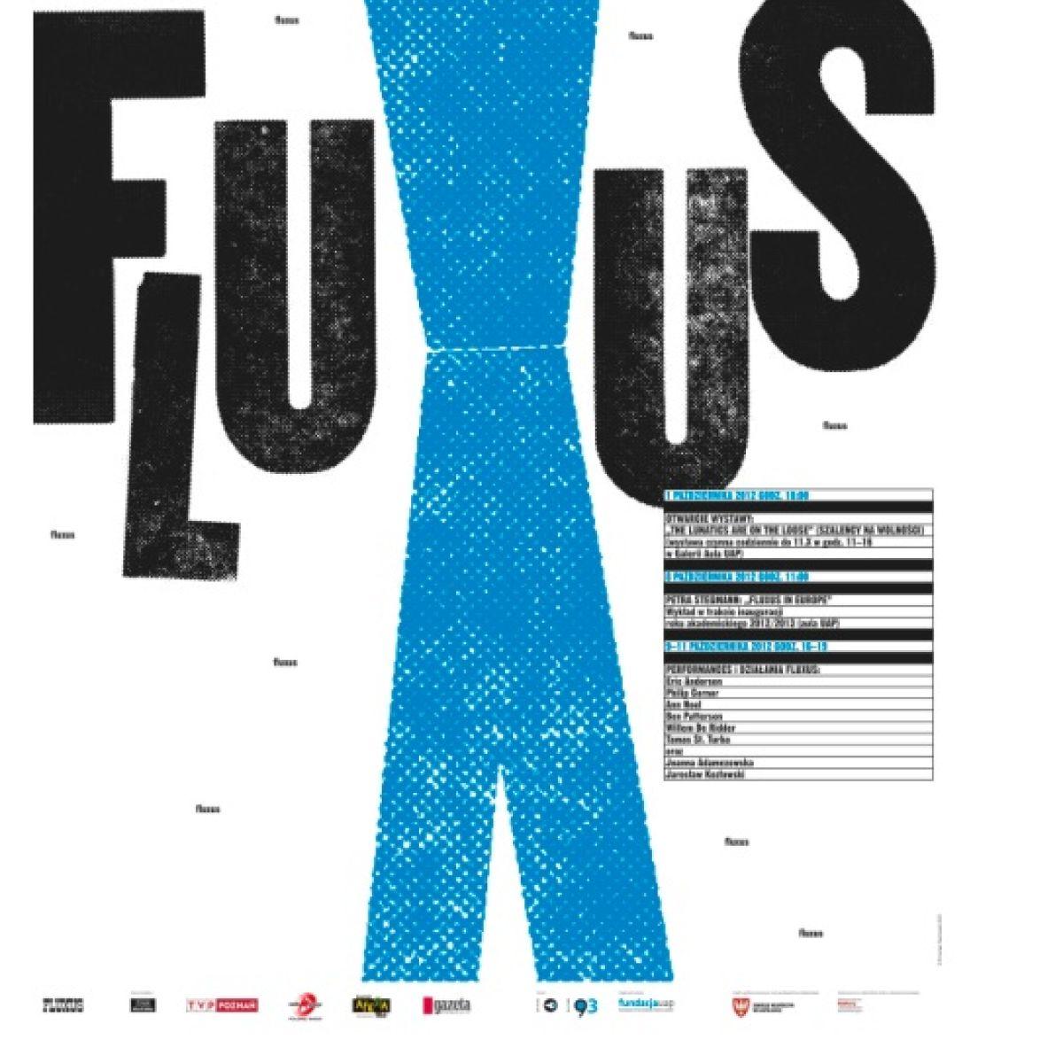 "Festiwal  ""Płynąć z Fluxusem. Festiwal Fluxusu."""