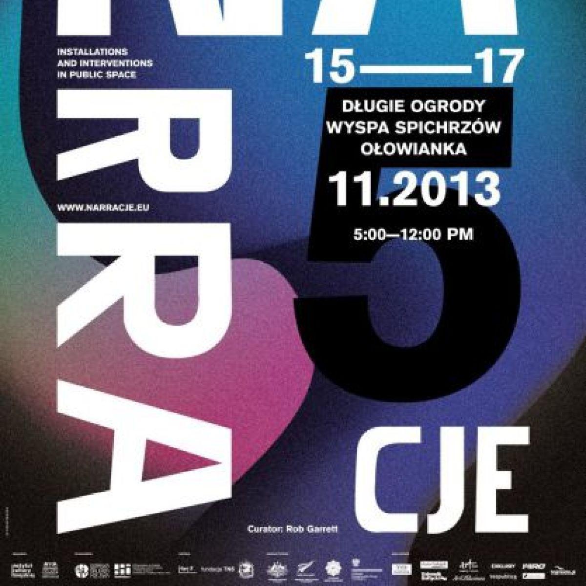 Zapraszamy do Gdańska na: 5. EDYCJĘ FESTIWALU NARRACJE
