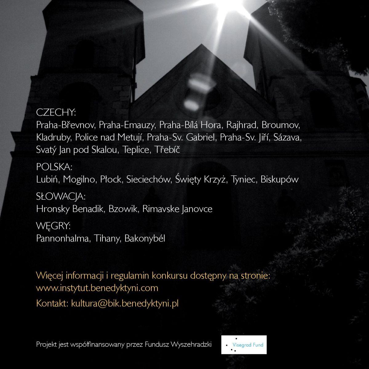 Konkurs fotograficzny – Via Benedictina
