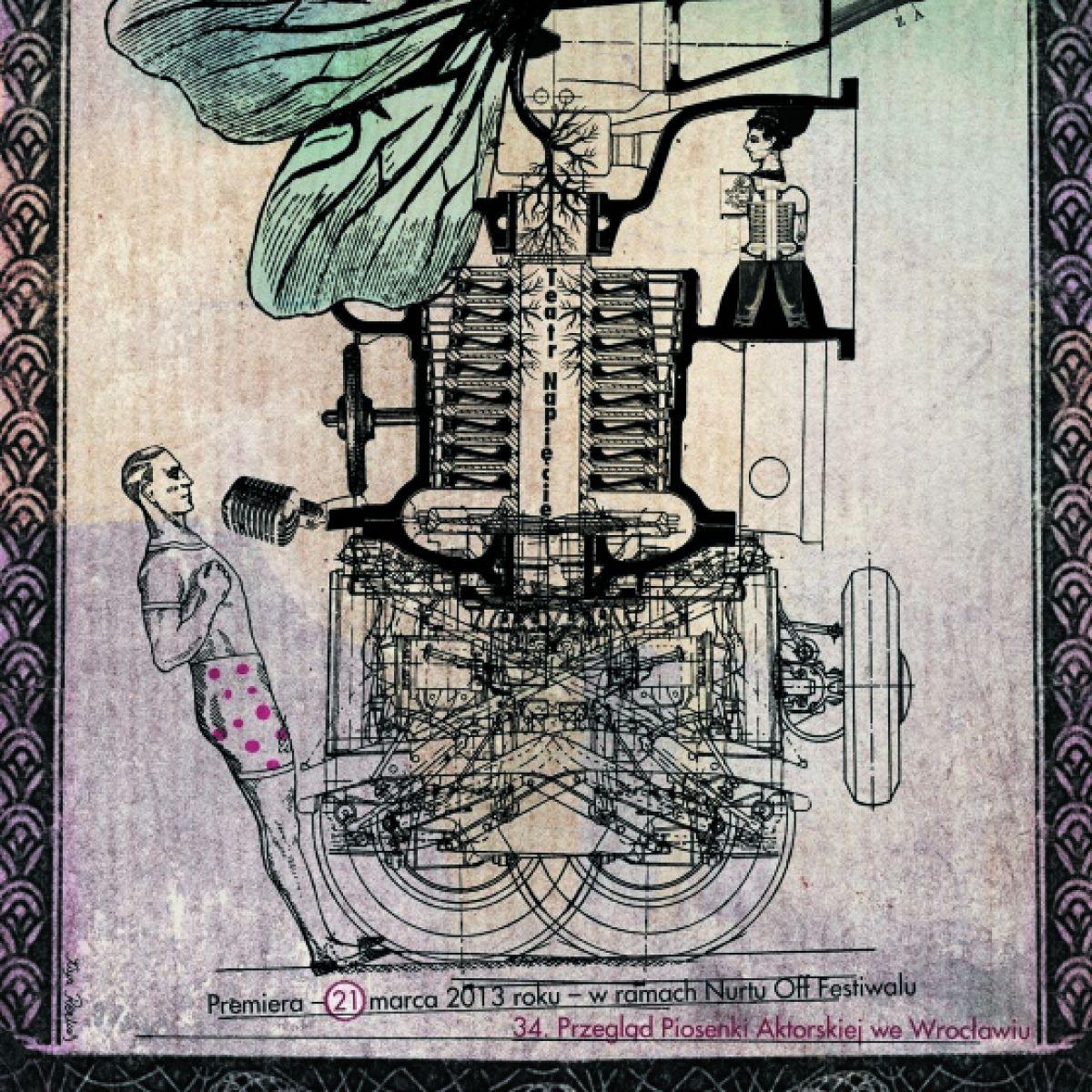 Pod patronatem Gallerystore: Kaja Renkas - wystawa plakatu - XI odsłona z kolekcji Włodka Orła