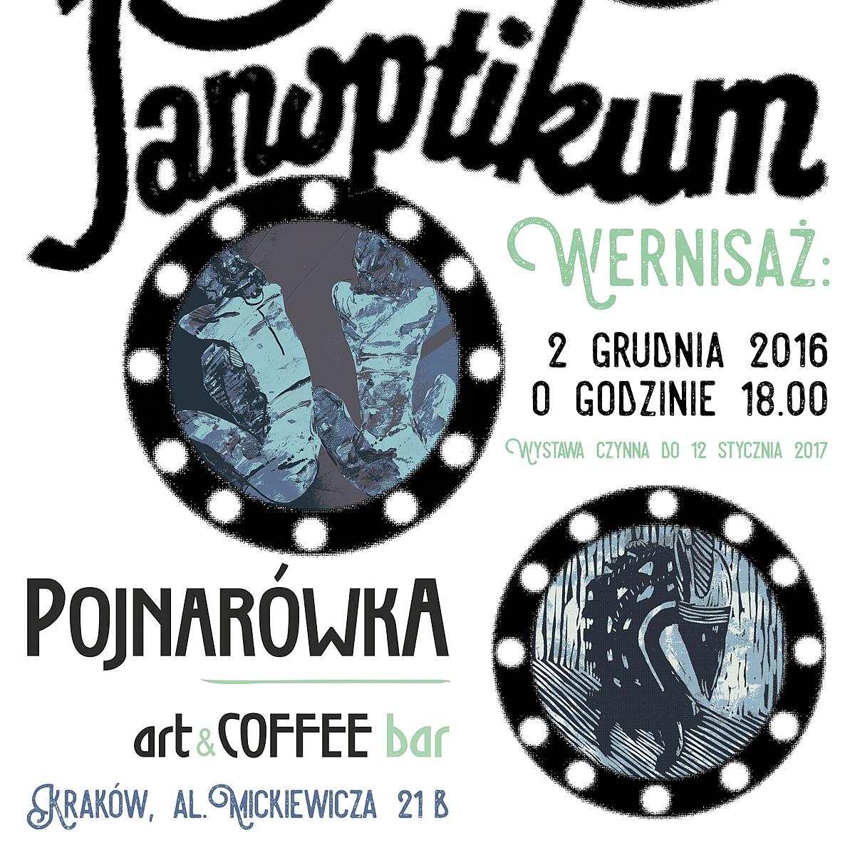 """Panoptikum"" Emilii Gąsienicy-Setlak w Krakowie."