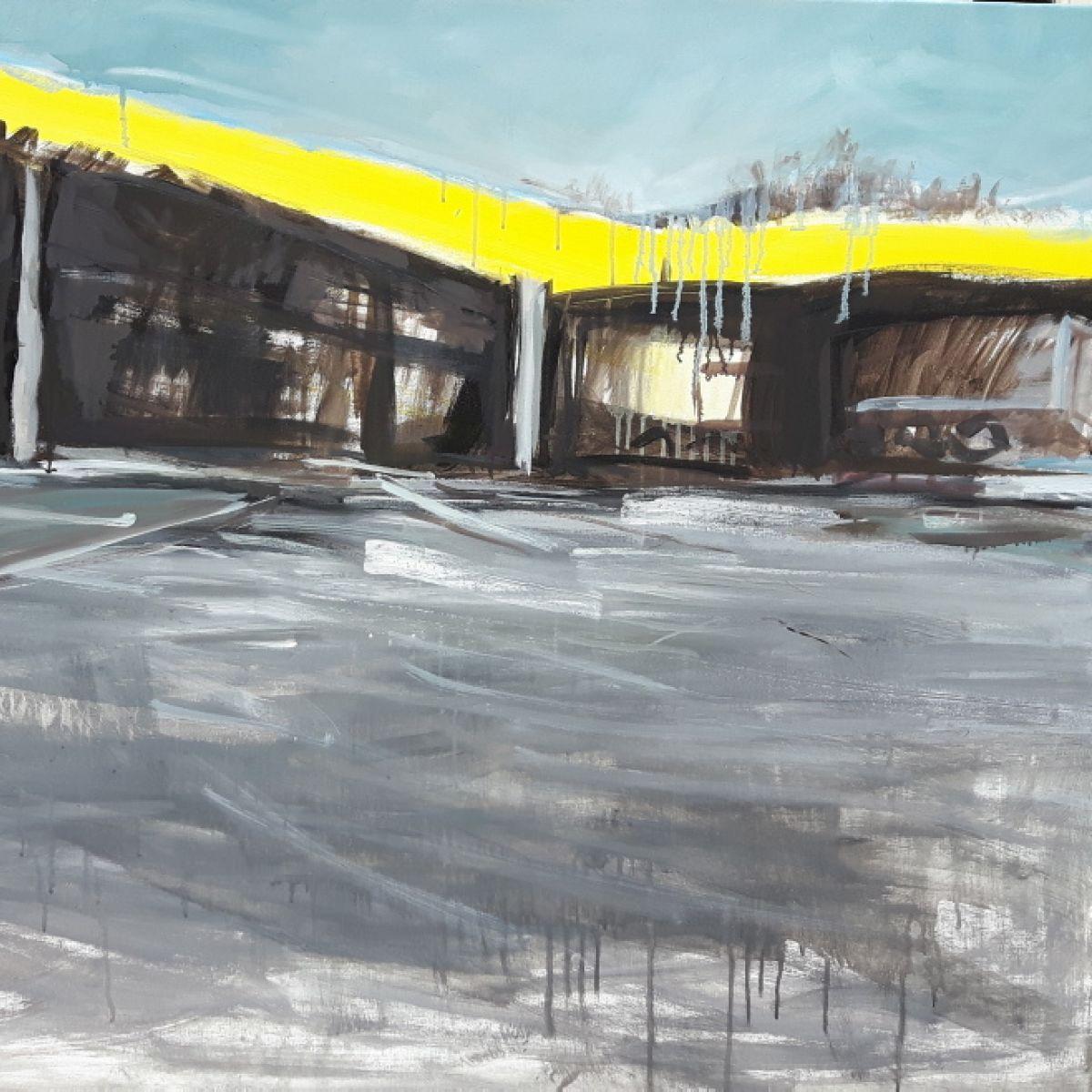 Angelika Wojas - wystawa prac pt. OBRAZKI Z DROGI - Galeria Schody - 06-17.01.2017