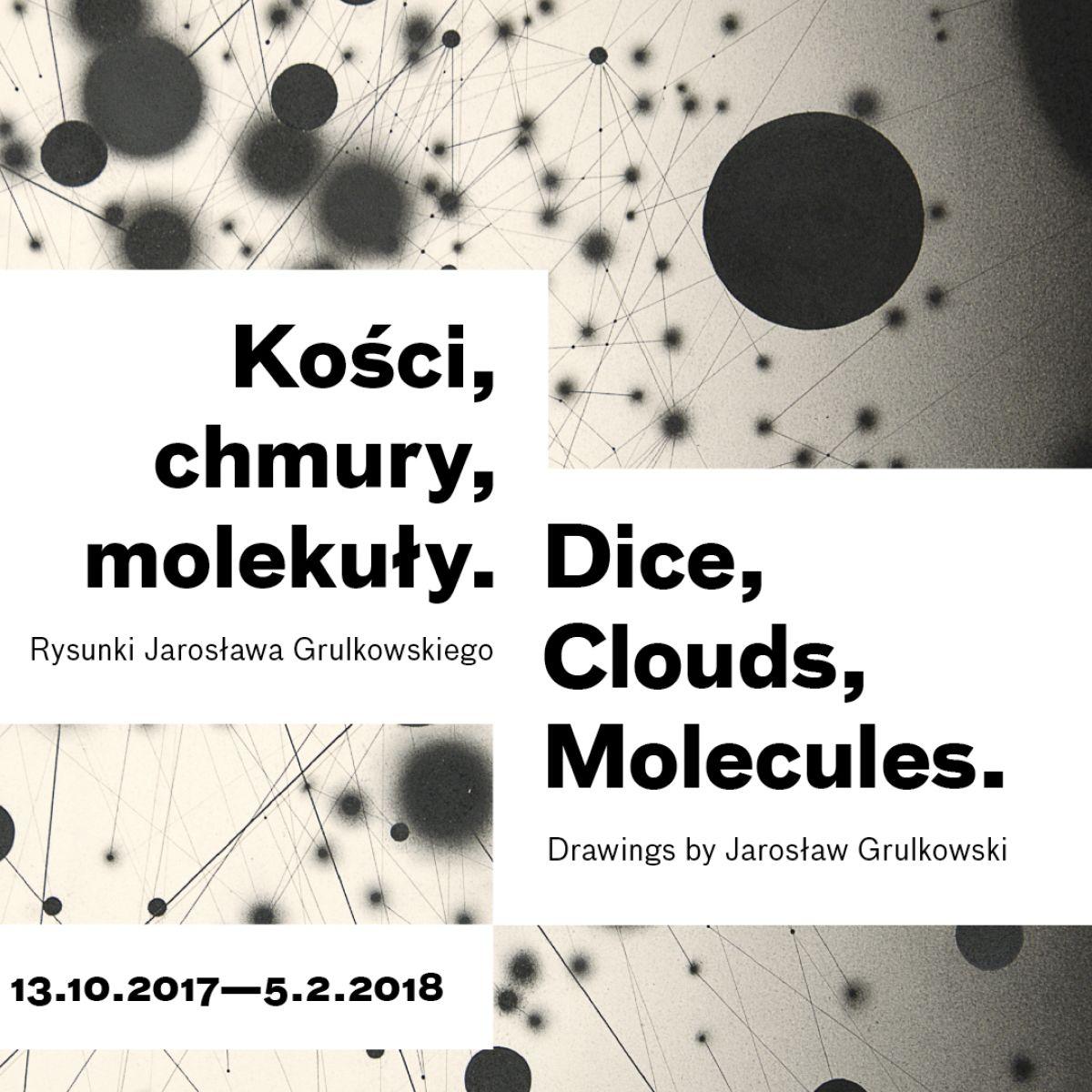 Kości, chmury, molekuły. Rysunki Jarosława Grulkowskiego