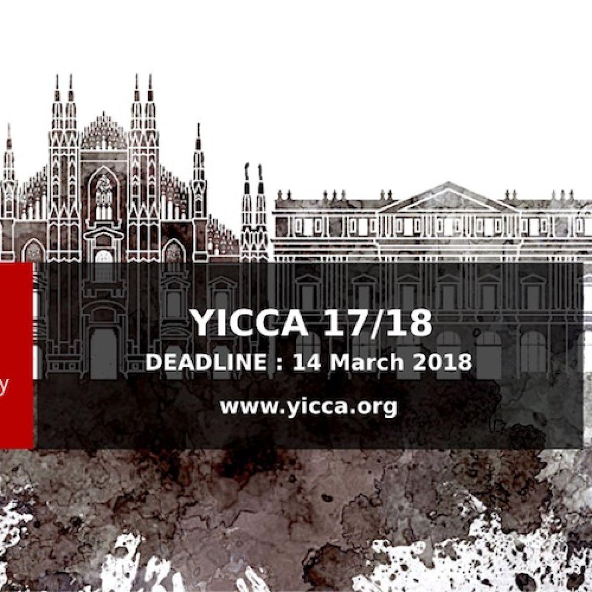 Konkurs YICCA 17/18 - International Contest of Contemporary Art