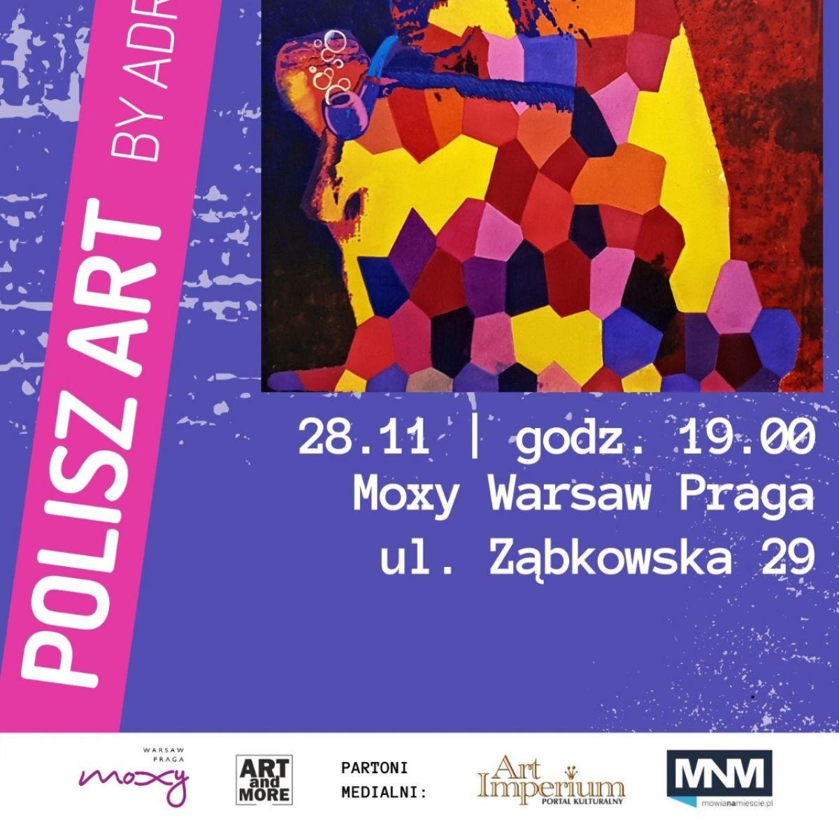 POLISZ ART by Adrian VOZNY  - artystyczny pop-up, czyli połączenie sztuki i zabawy