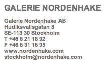Nordenhake, Stockholm