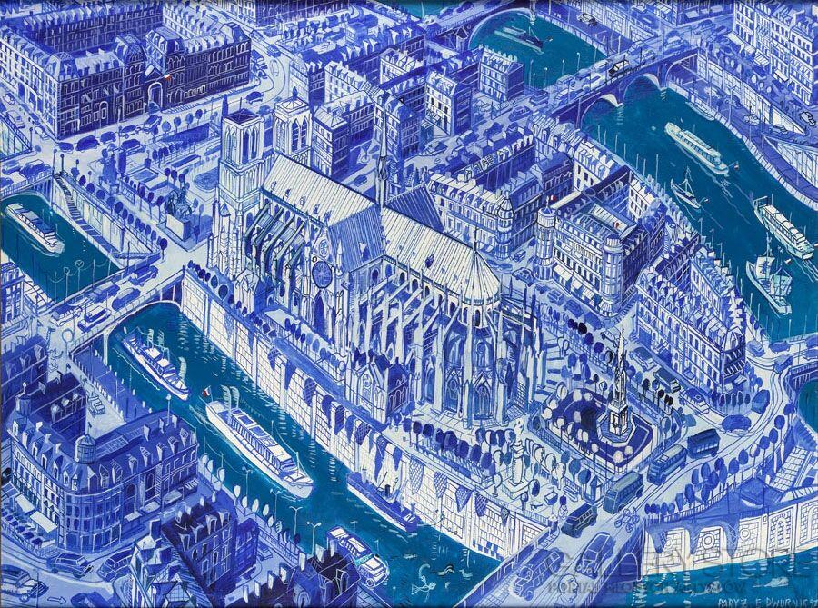 Paryż Edward Dwurnik