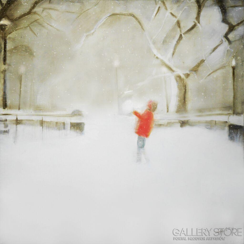 Pierwszy śnieg Małgorzata Nowak