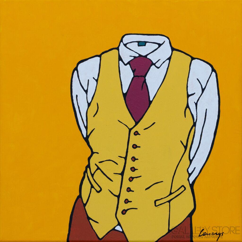 Żółty nr 13 Marcin Lenczowski