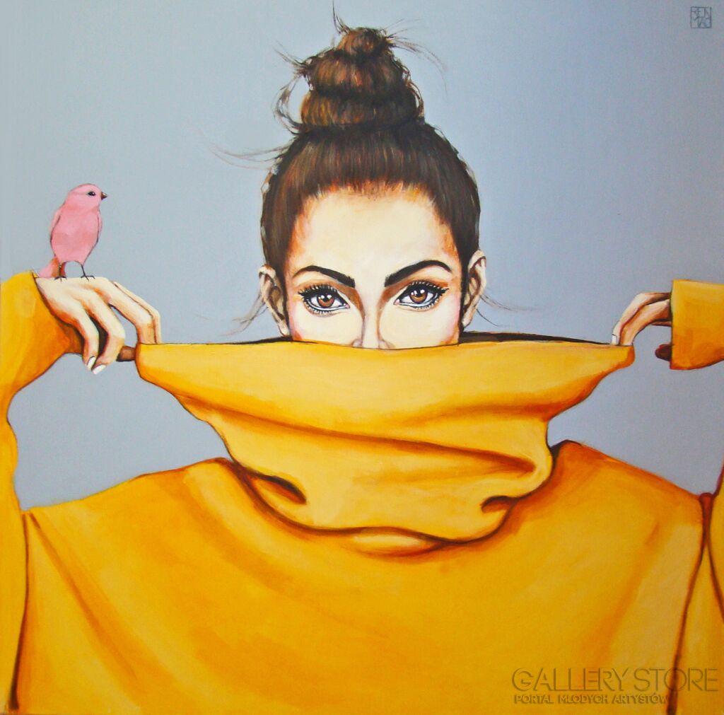 pink bird VI Renata Magda