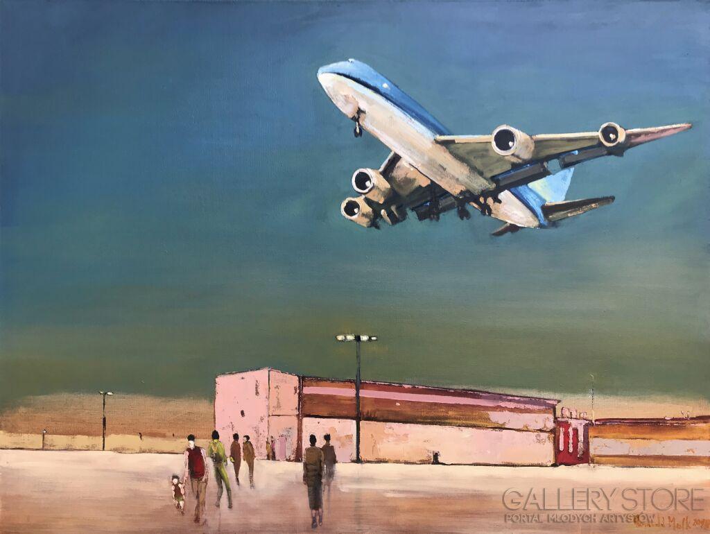 Pierwszy lot małego Australijczyka Romuald Mulk Musiolik