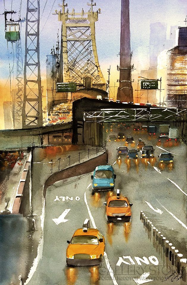 Nowy York Queensboro Bridge Tomasz Olszewski