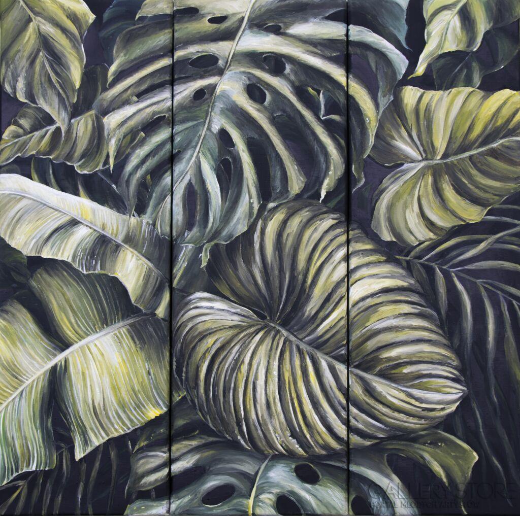 Liście tropikalne - tryptyk Vladlena  Zabuzhko