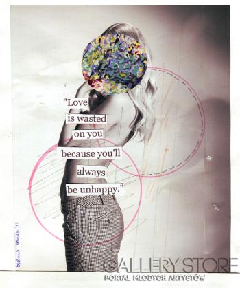 Ewelina Lebida-love is wasted on you-Grafika