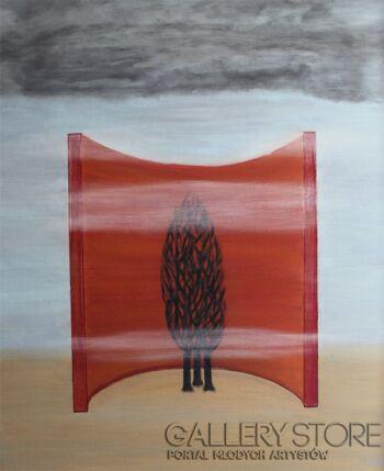 Adam Kucz-Bez tytułu-Olej