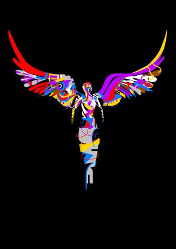 Adrian Czeladziński-Anioł nr.2-Grafika