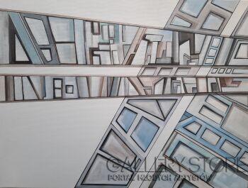 Aga Hanna Pinkosz-Miasto 04-Akryl