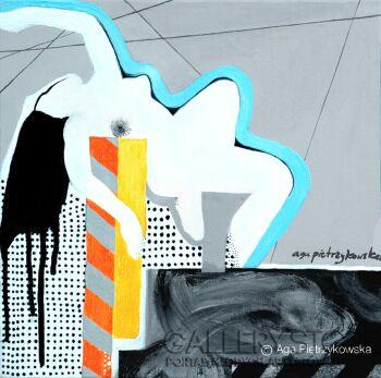 Aga Pietrzykowska-Nowy Jork jest kobietą-Akryl