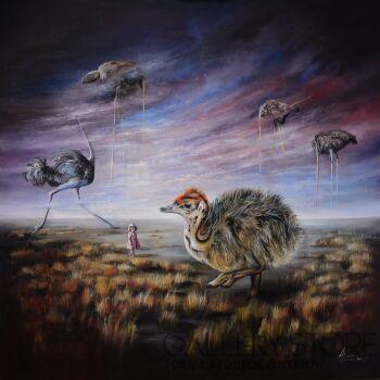 Agata Buczek-Idź przez życie z dumnie uniesioną głową-Olej