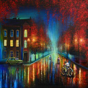 Agata Buczek-Na rowerach-Akryl