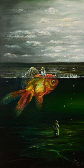 Agata Buczek-Patrząc z innej perspektywy-Olej