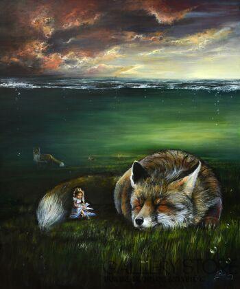 Agata Buczek-Śpij spokojnie-Olej