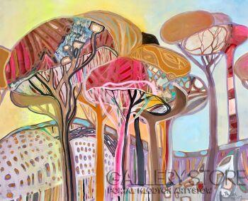Agata Padol-Drzewa piniowe I-Akryl