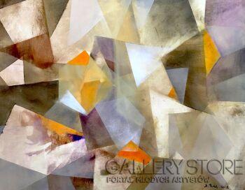 Agata Padol-Kryształy IV-Akryl