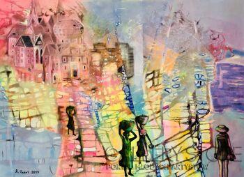 Agata Padol-Kadr z podróży-Akryl
