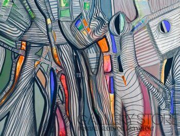 Agata Padol-Konfiguracja -Akryl