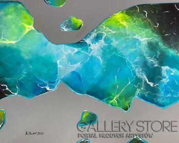 Agata Padol-Kształt wody-Akryl